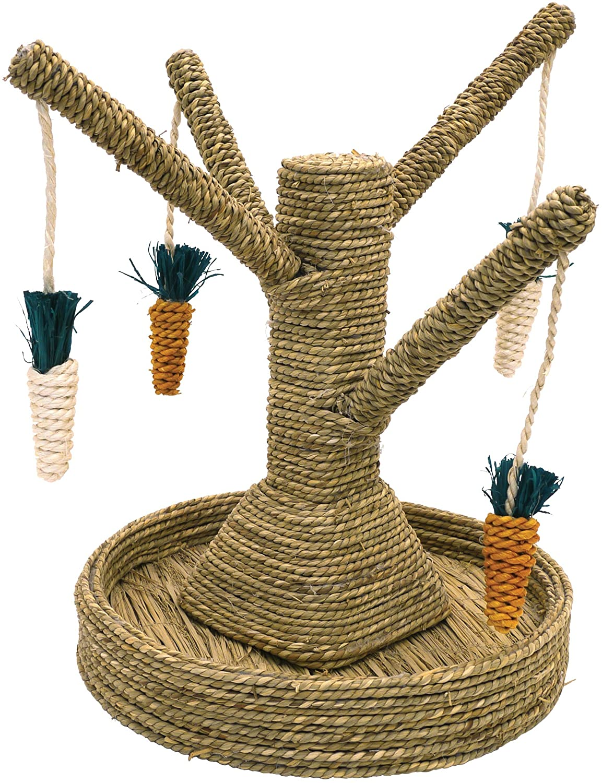 arbre ludique jouets lapin
