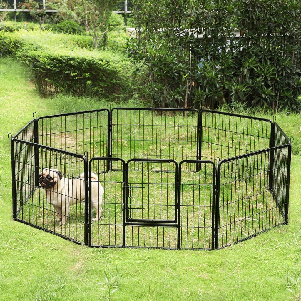 enclos lapin extérieur métal Feandrea