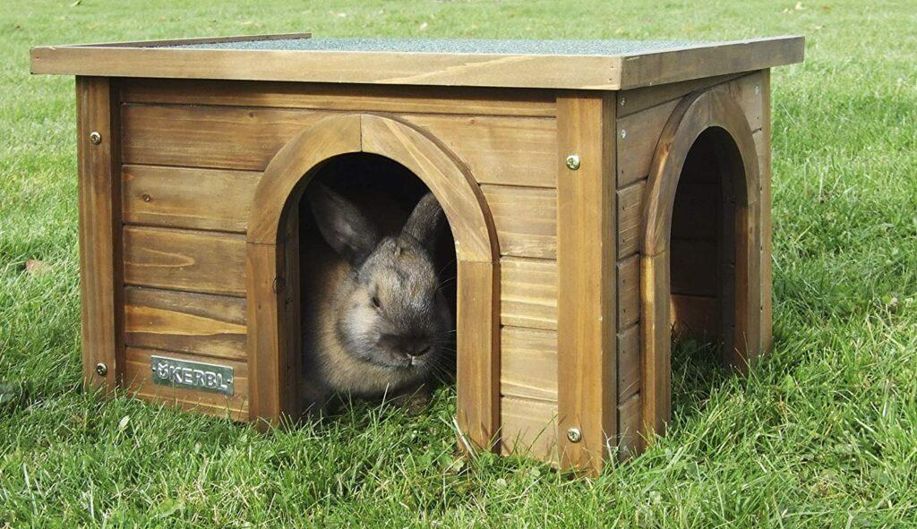 maisonnette lapin kerbl bois