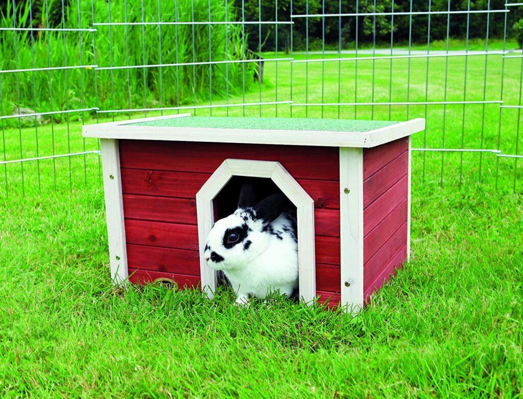 maisonette lapin trixie bois