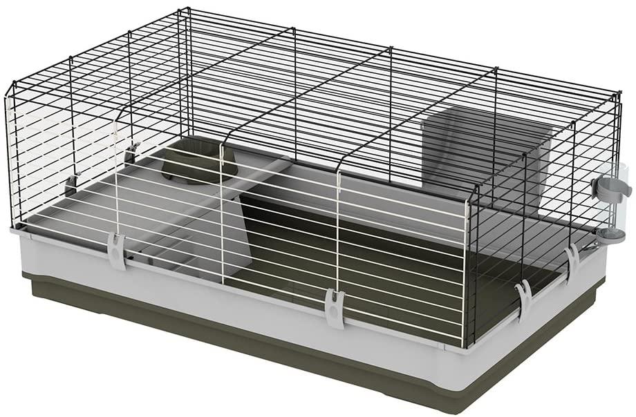 cage lapin pas chère barreaux ferplast